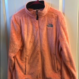 Creamsicle North Face Jacket